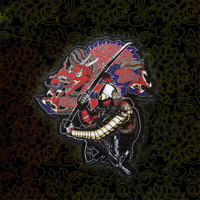 Stormtrooper TACTICAL Samurai Morale Patch Dragon Lucky Milspec Embroidery Be