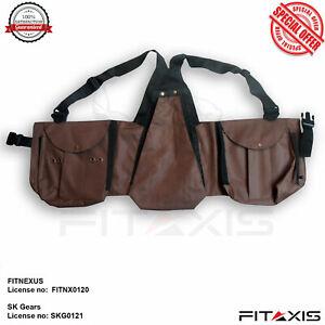 FITAXIS-Brown-Hawking-Vest-Pets-Hood-Falconry-Vest-Codura-Shooting-Jackets