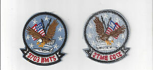 U-S-AIR-FORCE-PATCH-VINTAGE-3703rd-BASIC-MILITARY-TRAINING-SQUADRON