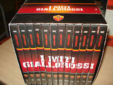 BOX COFANETTO 12 DVD I MITI GIALLOROSSI AS ROMA CALCIO DI BARTOLOMEI
