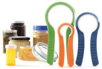 Jar And Bottle Lid Openers, Set Of 3. Very High Quality 3 Sizes.