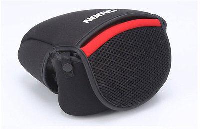 Small Neoprene Camera DSLR SLR Inner Padded Lens Cover Pouch Case Bag For Pentax