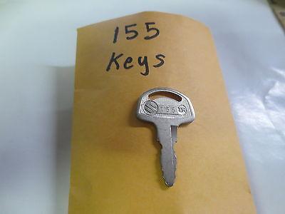 SUZUKI,T500,TS25,TS400,TS90,T125,K10,AS50 Nos oem Pre cut  Key # 155