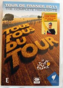 TOUR-DE-FRANCE-2011-THE-COMPLETE-HIGHLIGHTS-dvd-REGION-0-cycling-SBS-cadel-evans