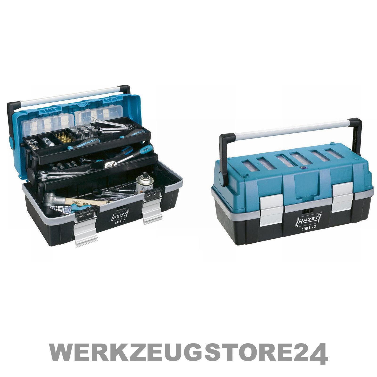 HAZET Kunststoff-Werkzeugkasten Kunststoff-Werkzeugkasten Kunststoff-Werkzeugkasten - LEER - Werkzeugkiste, Werkstattausrüstung 4a0520