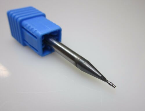 diameter 1mm HRC45 2 flute Tungsten Carbide End Mill milling cutter CNC tool
