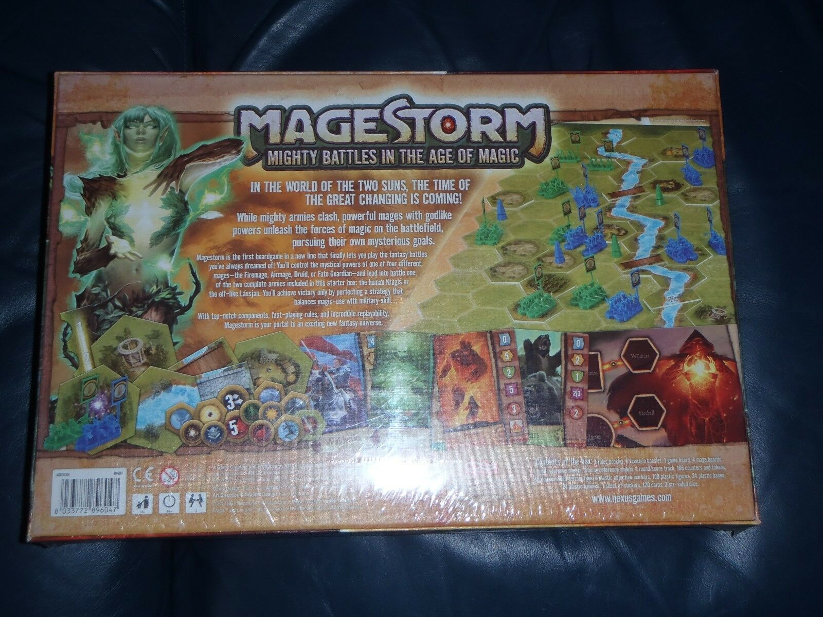 Nexus MAGESTORM Board Game Game Game    NEW + SEALED  143491