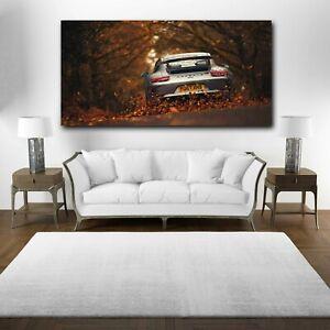 The Porsche 911 Canvas Print, Porsche 911 Canvas Wall Art