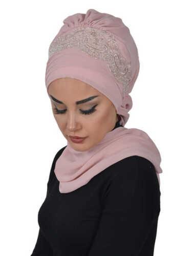 Ht-53 listo pañuelo prácticamente hijab chifón türban esarp sal tesettür khimar
