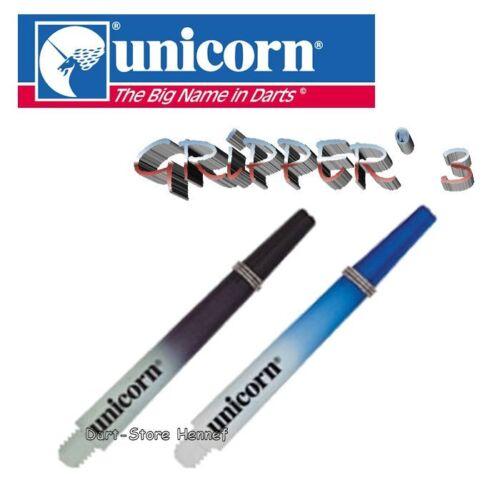 Länge und Farbe wählbar versandkostenfrei 6 Shafts Unicorn GRIPPER 3 TWO-TONE