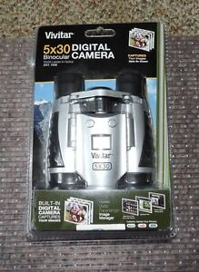BRAND NEW IN PACKAGE Vivitar VIV-CV-530-V 5x30 Digital Camera Binocular