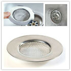 Stainless Steel Kitchen Bath Sink Strainer Floor Drain Filter Cover Stopper 7N