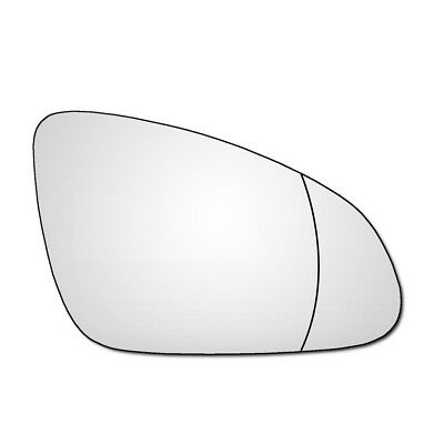 Right Drivers Side Vauxhall Astra J MK6 2009-2016 Wide Angle Wing Mirror Glass