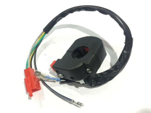"""1x Universal Motorcycle 7//8/"""" Handlebar Control Ignition Kill Start Switch ON OFF"""