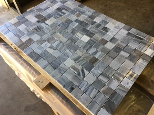 lucidato SKYFALL mosaico di marmo MOSAICO in marmo campione 100X100MM