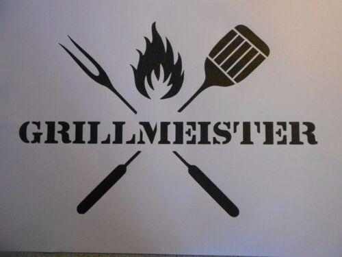 "Gabarit /""Barbecue Maître/"" sur a4"