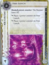 Android Netrunner LCG - 1x #035 Free Lunch - Station One