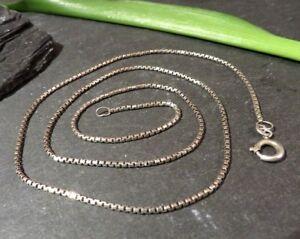 Elegante-925-Silber-Kette-FBM-Friedrich-Binder-Venezianerkette-Viereckig-Design