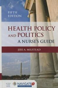Health-Policy-and-Politics-by-Jeri-A-Milstead-2014-Hardcover-T28