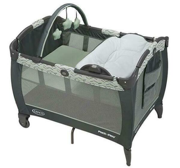Baby Bassinet Twins Graco Pack /'n Play Playard Playpen Portable Crib Napper New