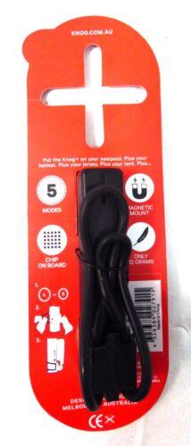 Knog Plus Rear Black USB Rechargeable LED