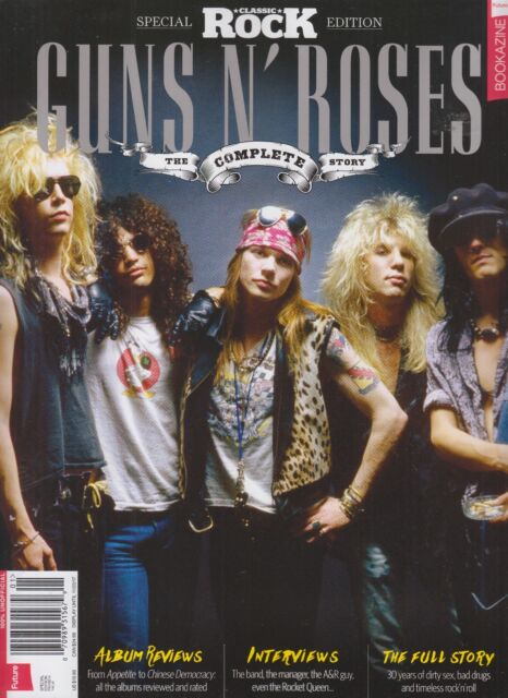 guns n 39 roses the complete story 2017 magazine classic. Black Bedroom Furniture Sets. Home Design Ideas