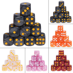 10pcs/Set Acrylic Polyhedral Dice For TRPG Board Game