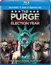 THE PURGE: ELECTION YEAR - BLU RAY - Sealed Region free for UK