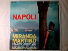 MIRANDA MARTINO Napoli lp ENNIO MORRICONE