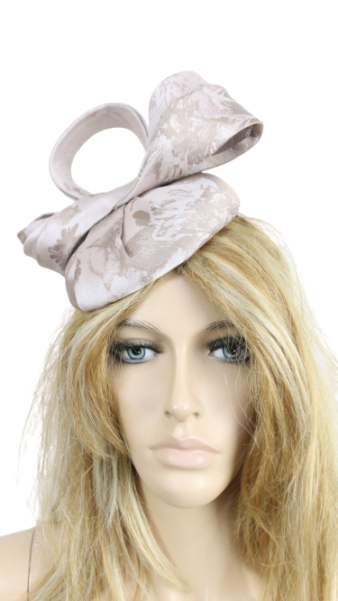 John Charles 26693 H54 MINK Small Mother of the Bride Wedding Formal Hat