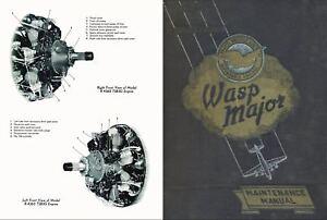 pratt whitney r 4360 wasp major rare 1940 s 50s engine manual rh ebay ie