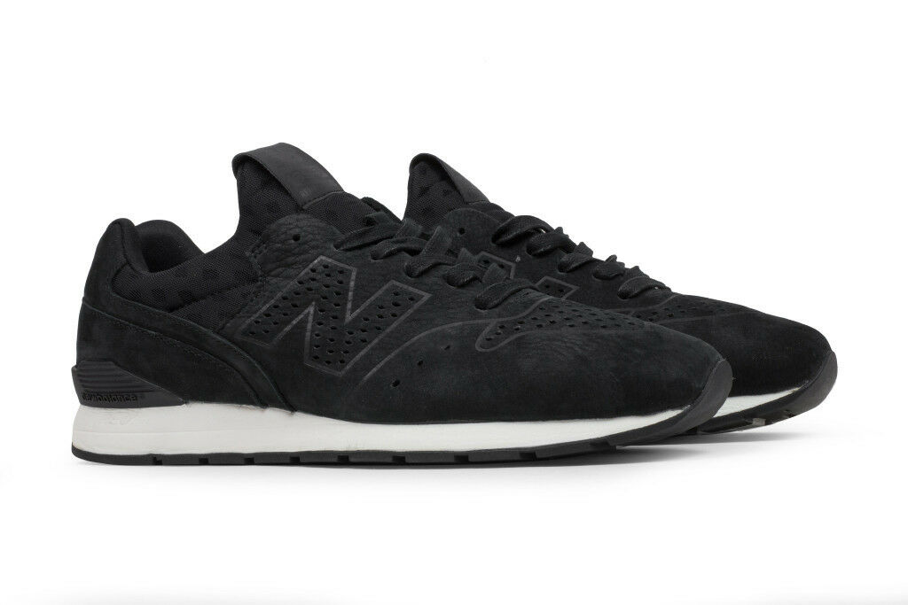 NIB New Balance MENS MRL696DK DECONSTRUCTED schwarz SUEDE LEATHER Turnschuhe 9-13