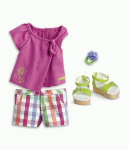 "American Girl Truly me Sunshine Garden Outfit for 18/"" Dolls"