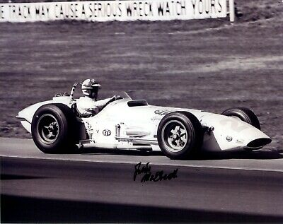 Jim Mcelreath Signed Indianapolis 500 Indy Car 8 X 10 Photo Autographed