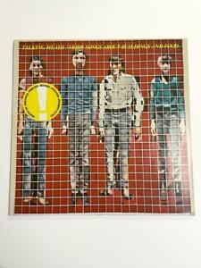 Talking Heads – More Songs About Buildings And Food Vinyl LP Rare Repress *VG+*