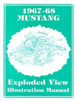 1967-68 Mustang Exploded View Manual