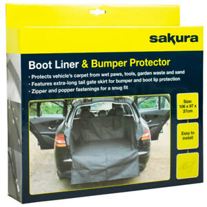 Heavy-Duty-Water-Resistant-Car-Boot-Liner-Lip-Protector-Dirt-Pet-Dog-Cover-Mat