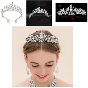 Image is loading Headbands-Stylish -Luxury-Crystal-Diamond-Crown-Bride-Wedding- 7d306d6a273