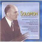 Solomon Concert Recordings, Vol. 1: Beethoven & Tchaikovsky (2003)