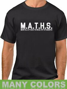 MATHS-Funny-School-Slogan-Definition-T-Shirt-Back-To-College-Tee-Shirt-Gift