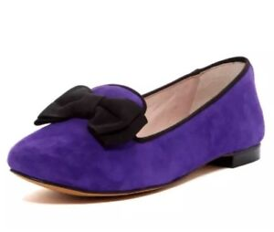 74f71bbe9 Image is loading Vince-Camuto-Brysone-Bow-Suede-Loafer-Purple-Women-