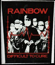 RAINBOW DIFFICULT TO CURE printed sew on vintage backpatch back patch