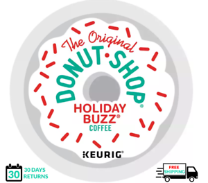 Donut Shop Holiday Buzz Keurig Coffee K-cups YOU PICK THE SIZE