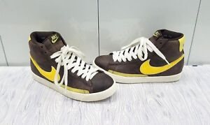 brand new a9c98 897fb Details about NIKE BLAZER HIGH SUPREME MEN''S SIZE: 7.5 BAROQUE  BROWN/ZEST-SAIL-WHITE LM