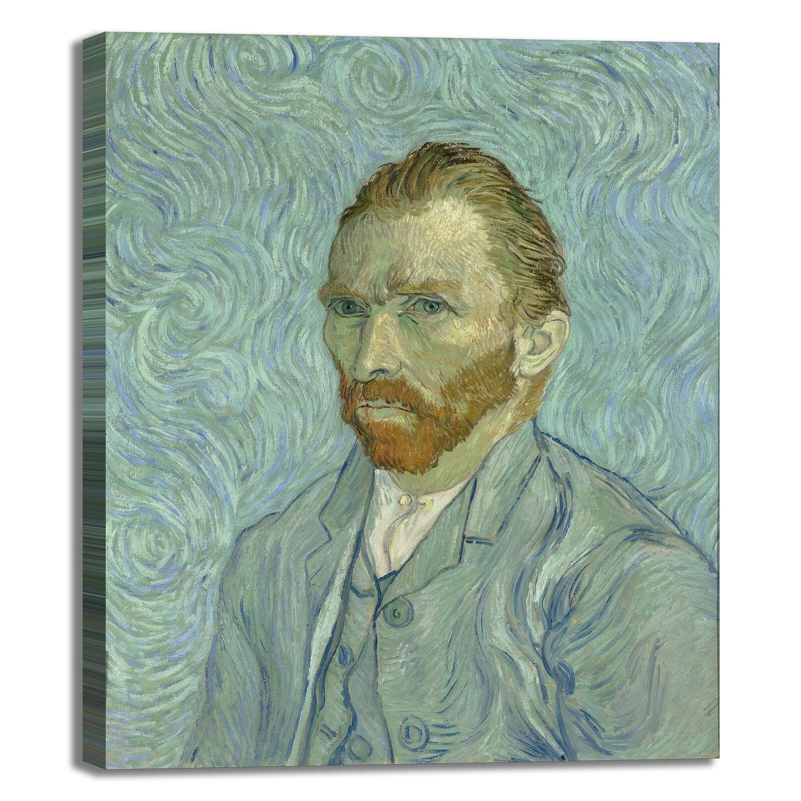 Van Gogh autoritratto design quadro stampa tela dipinto telaio arroto casa