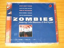 """ZOMBIES"" FEATURING COLIN BLUNSTONE / ROD ARGENT  (CD, Apr-1996, Disky) SEALED"