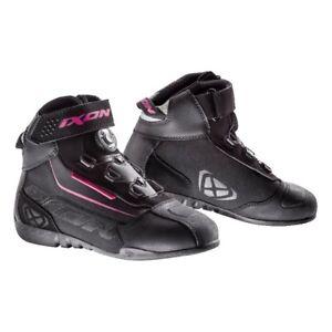 Femmes Sur Ixon Assault Noirrose Moto Scooter Sport Bottines Evo Détails Chaussures f76bYgy