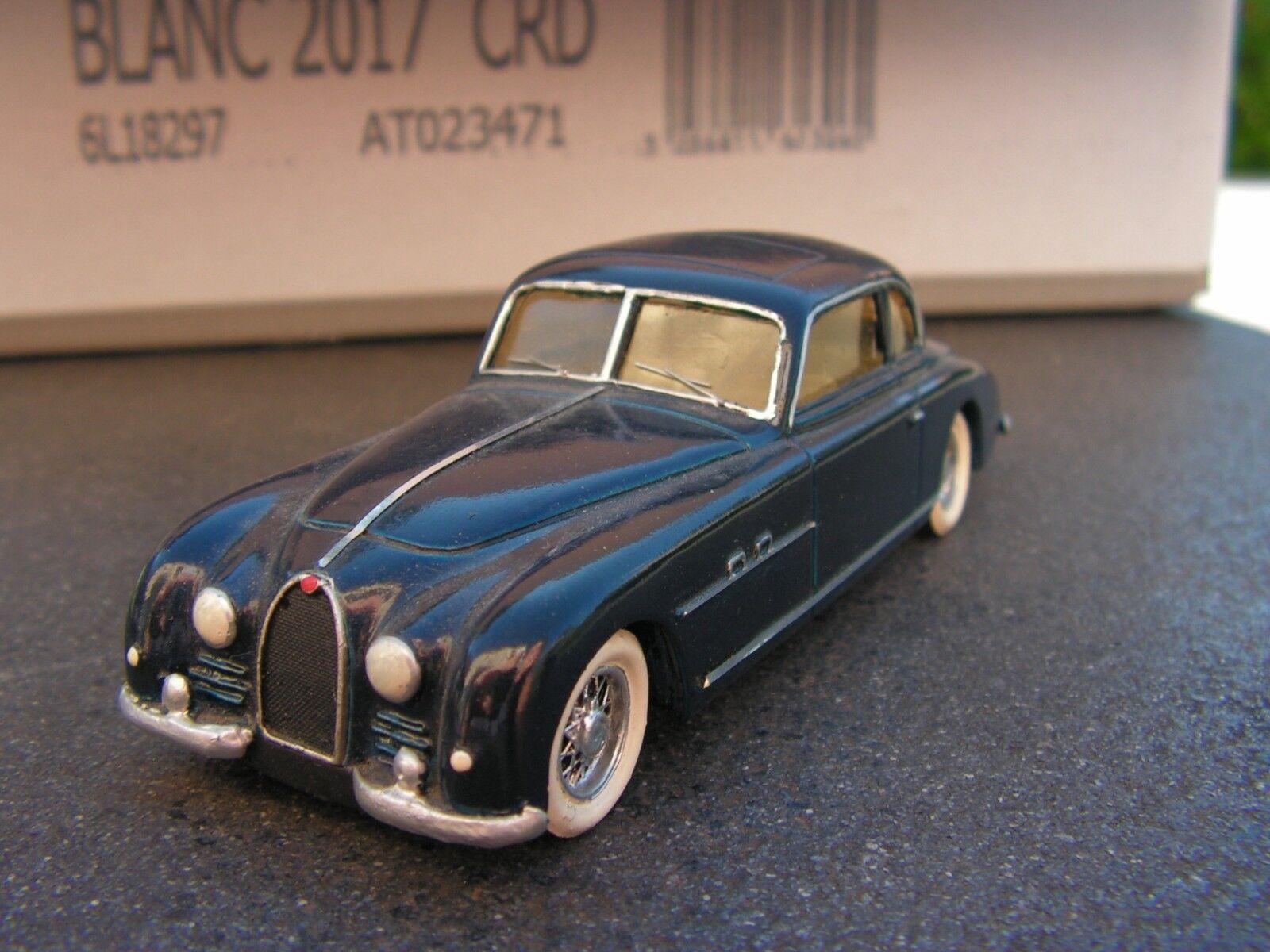 STL   bugatti type  101   kit monte       1 43  (f)