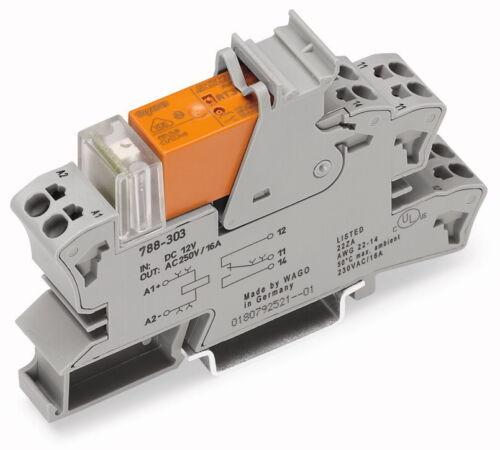 788-508 Wago stecksockel relés indicador de estado 1 cambiador ac 230 V