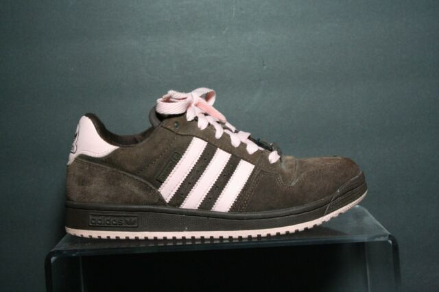 47bd2c837 Adidas Skateboarding Sneaker  05 VTG Multi Brown Pink Women 9 Athletic Suede